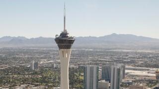 Aerial Views Of Las Vegas Casinos