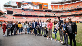 Browns Be the Solution sports marketing workshop