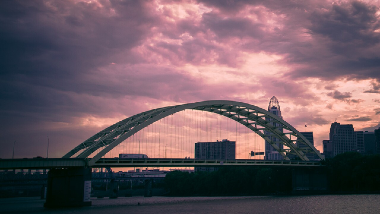 Cincygram: The Big Mac Bridge in ways you've likely never seen before