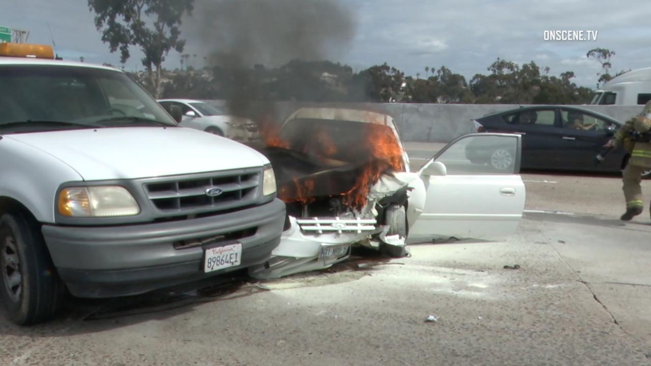 805 car fire marines 02.27