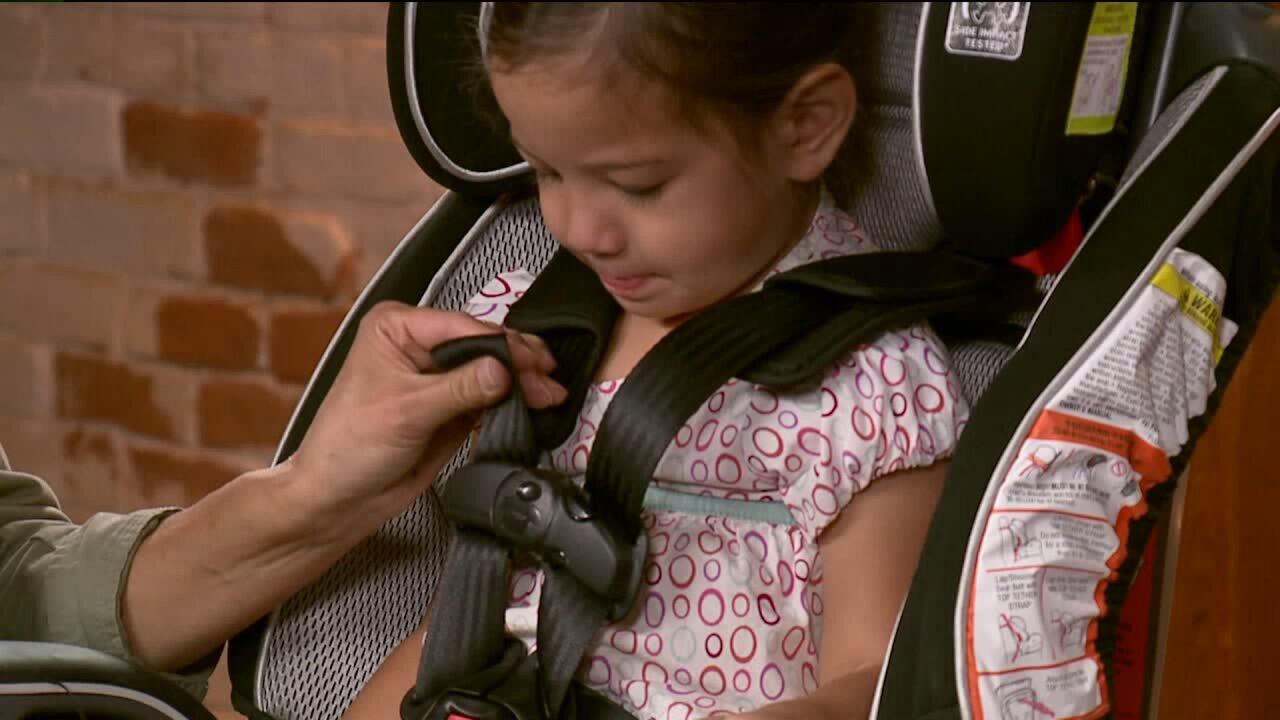5 common errors when strapping kids in car seats