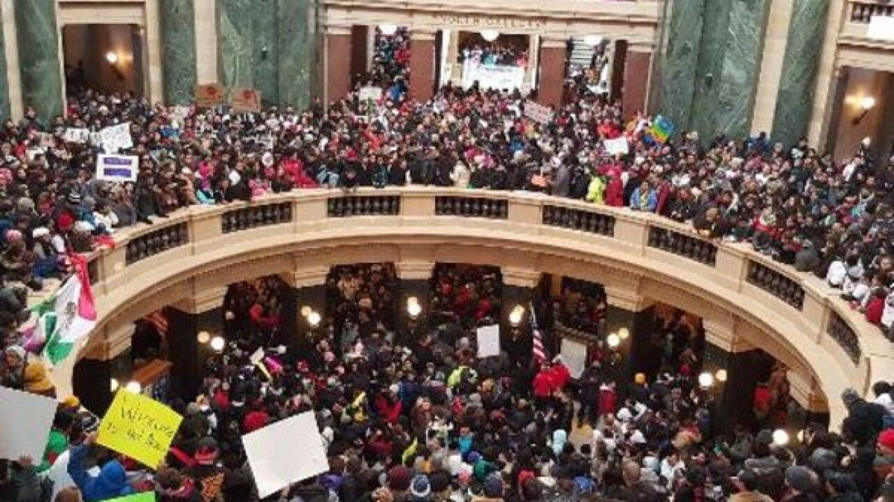 LIVE: Rally against immigration bills at Capitol