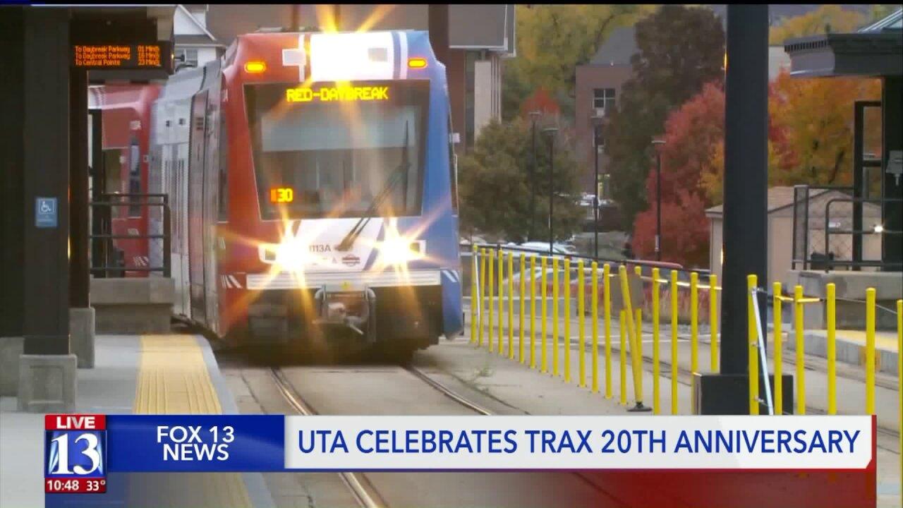 UTA celebrates 20th Traxanniversary