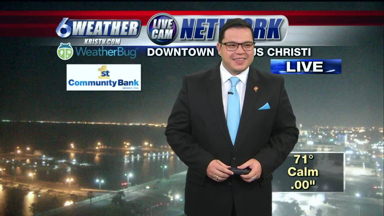 Juan Acuña's weather for Nov. 25, 2020