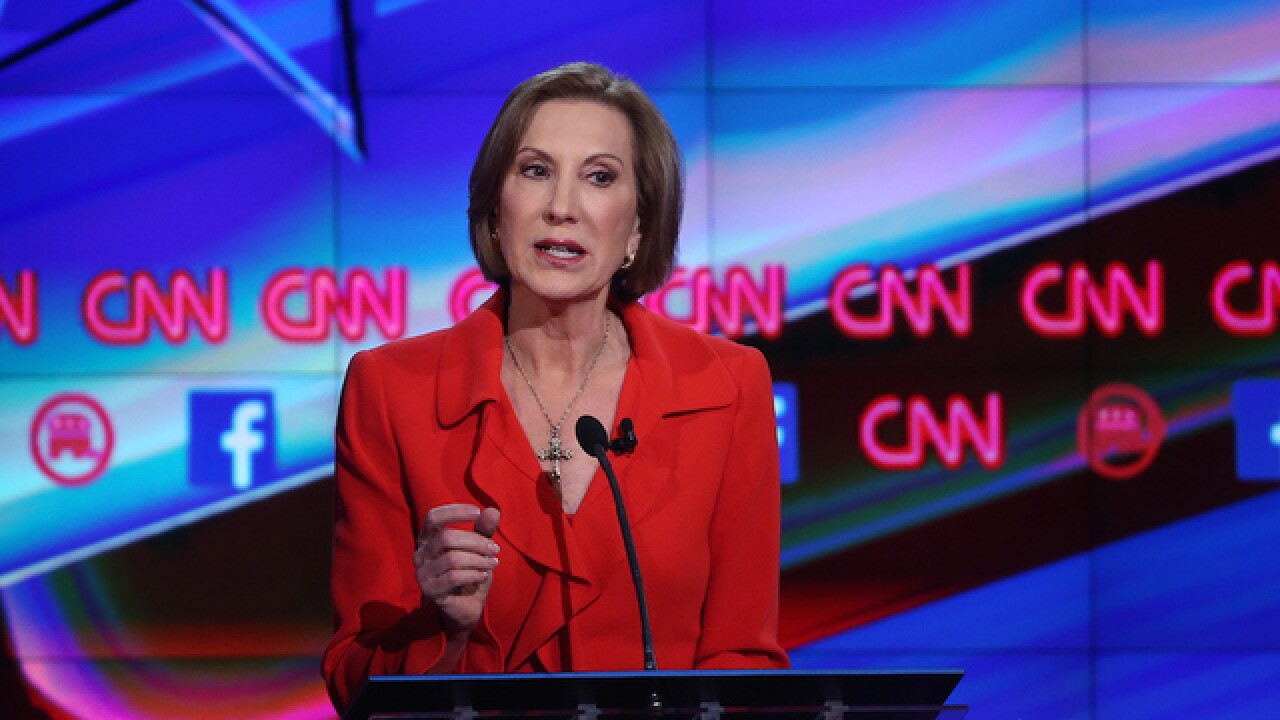 Ted Cruz picks Carly Fiorina as running mate