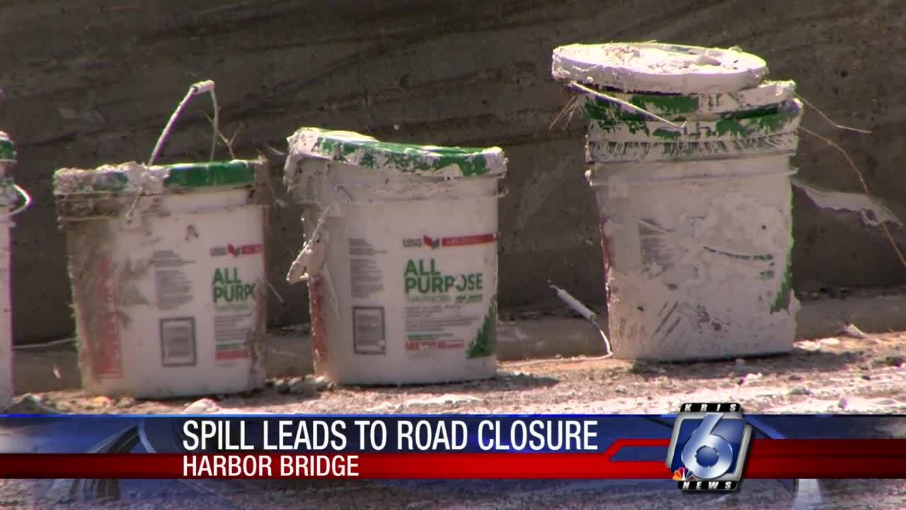 Harbor Bridge spill