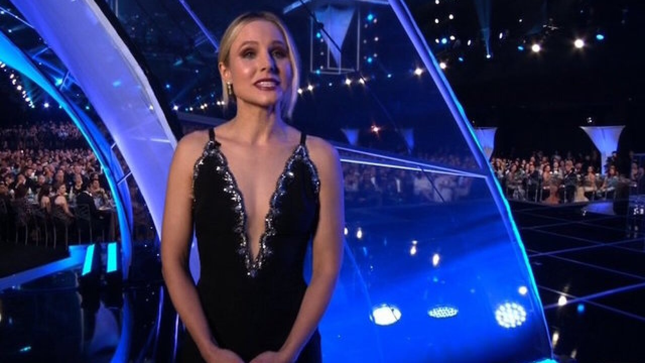 Kristen Bell's best lines as 'first lady' of the SAG Awards