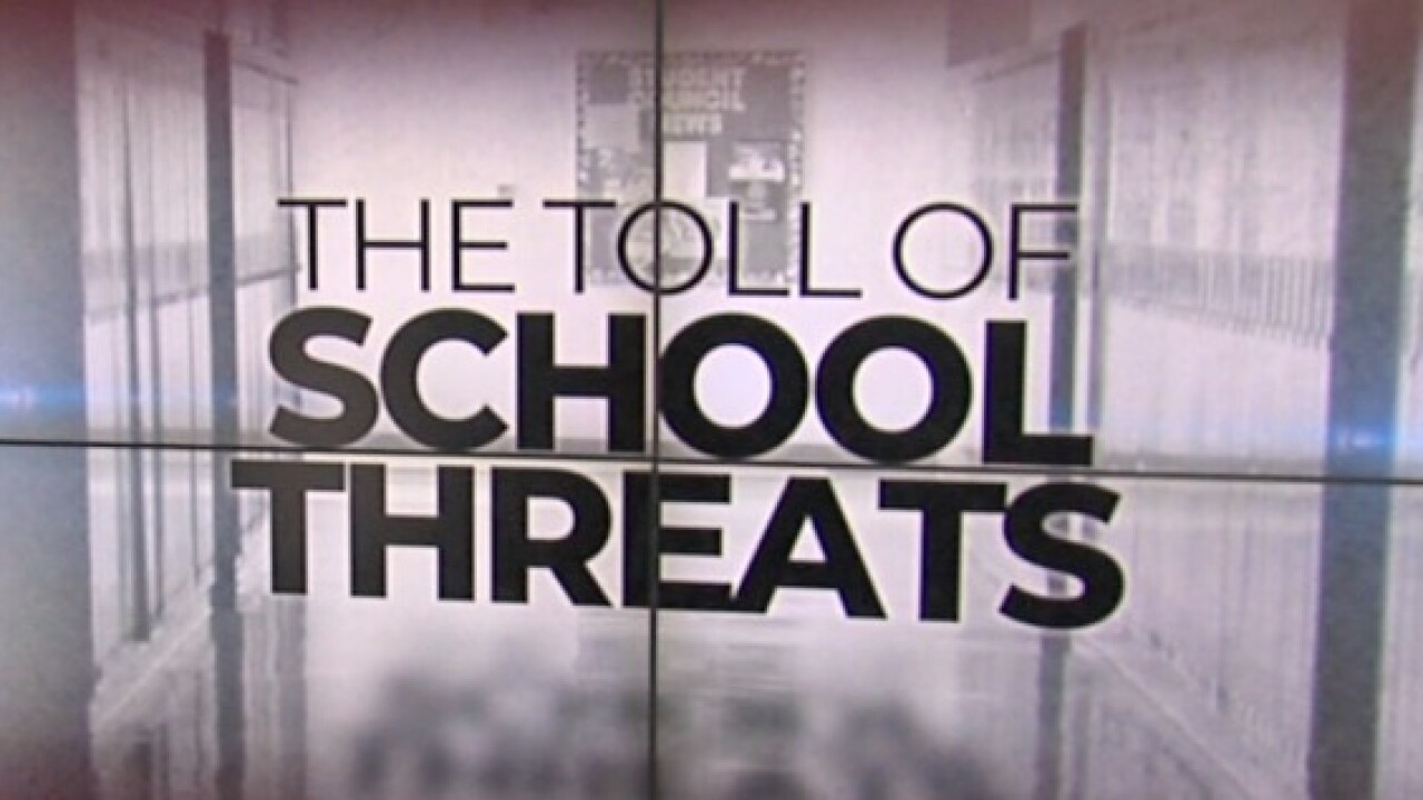 The toll of school threats