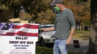 Colorado Denver voting ballot box drop absentee mail vote