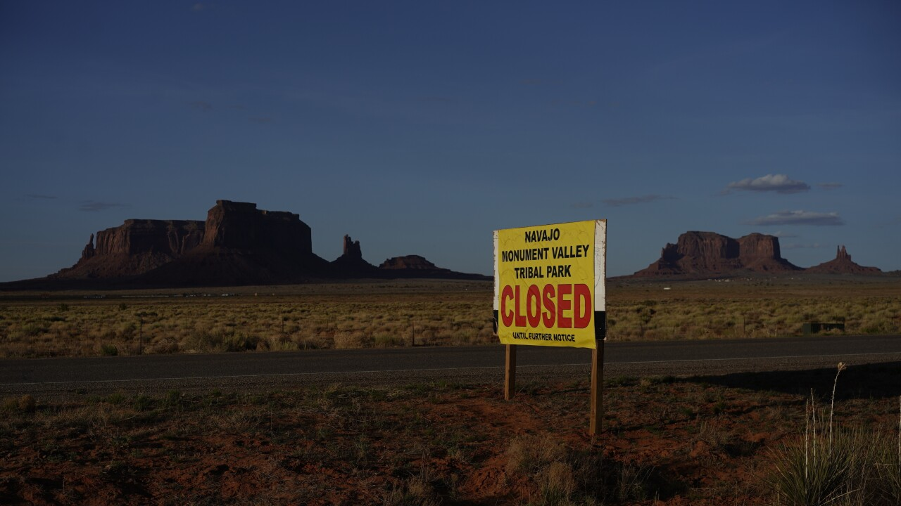 Virus Outbreak Navajo Nation AP