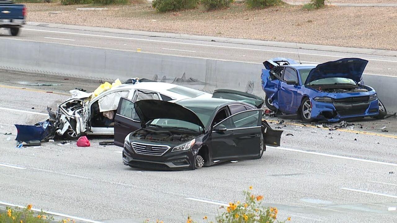 Deadly crash at Loop 202 and Kyrene