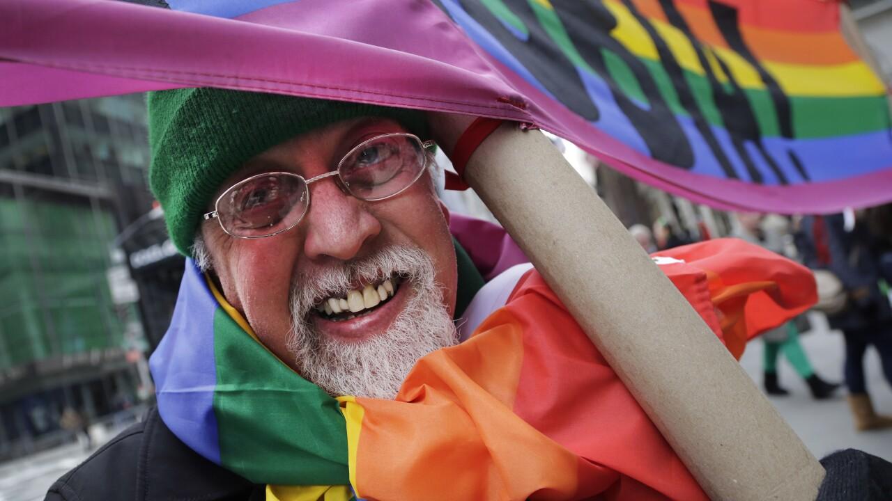 Gilbert Baker Rainbow Flag, Gay Rights