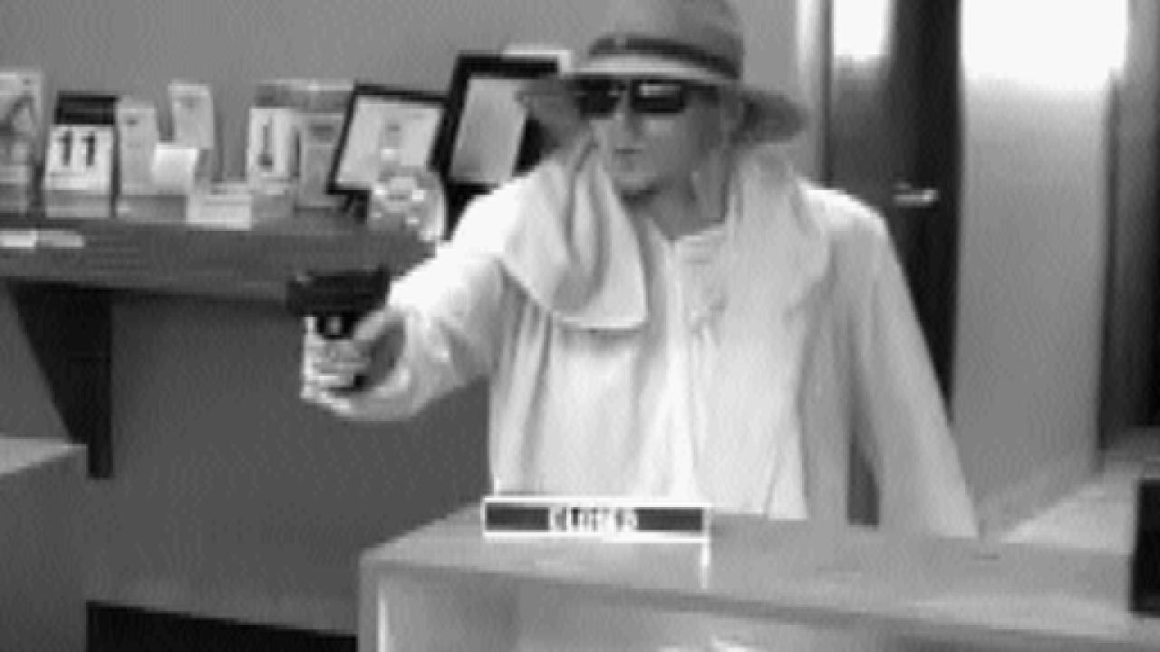 Police seek suspect in Watertown bank robbery