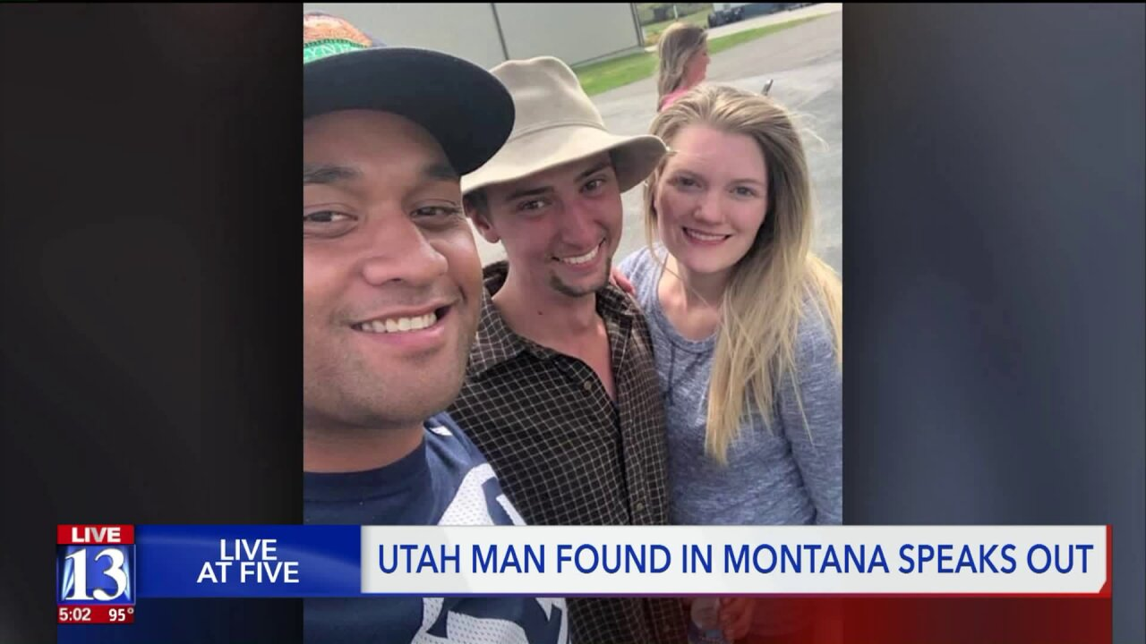 Utah man missing in Montana talks about how he survived