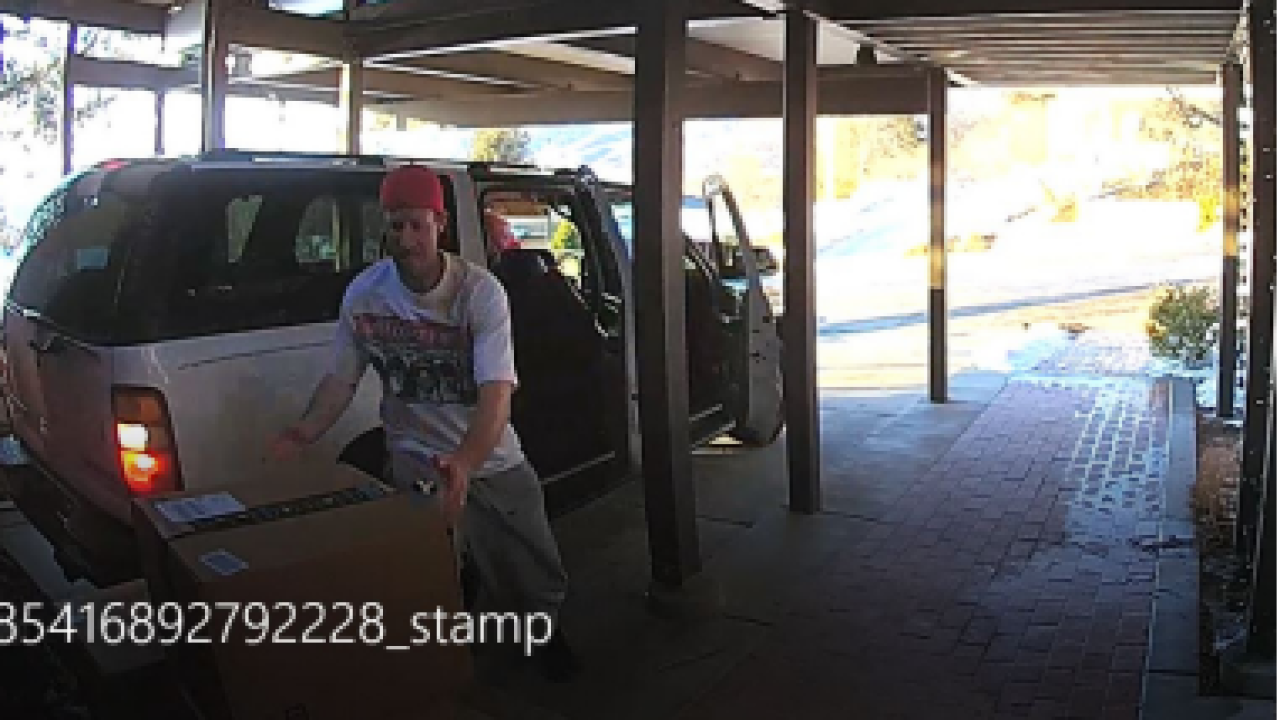 Salt Lake Police looking for package thief