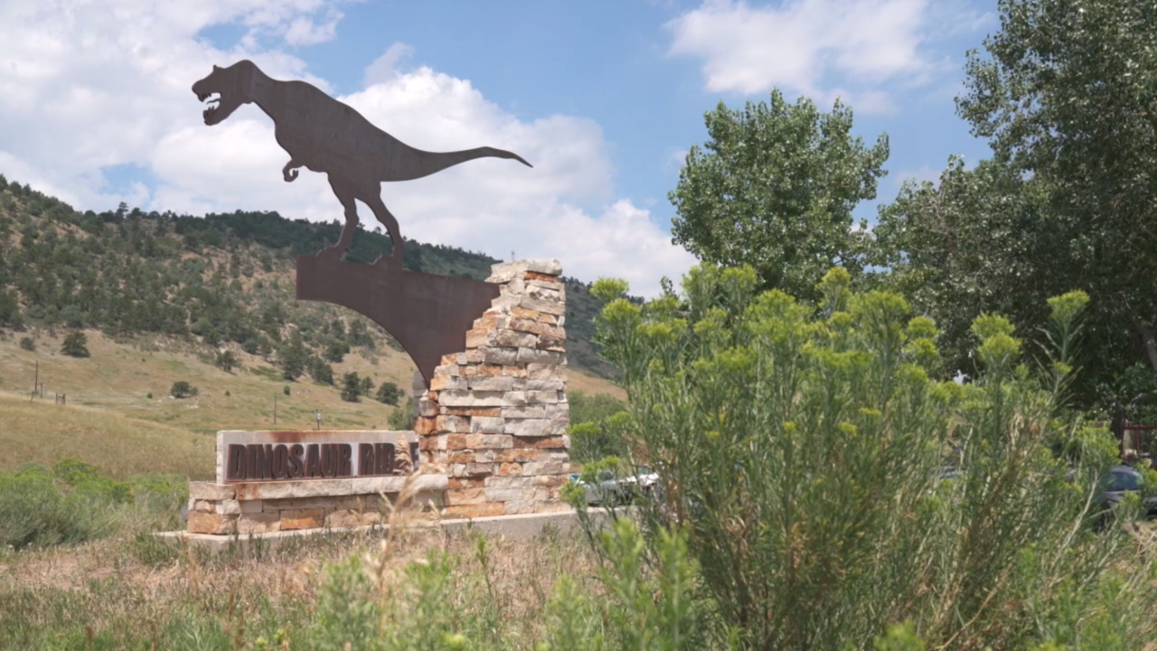 Dinosaur Ridge in Colorado ranked no. 1 track site in all of U.S.