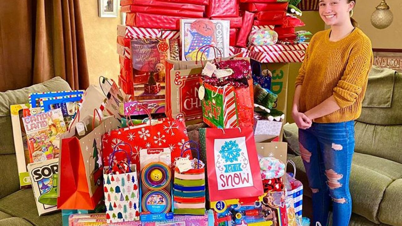 Billings student donates $3,600 worth of toys to those in need