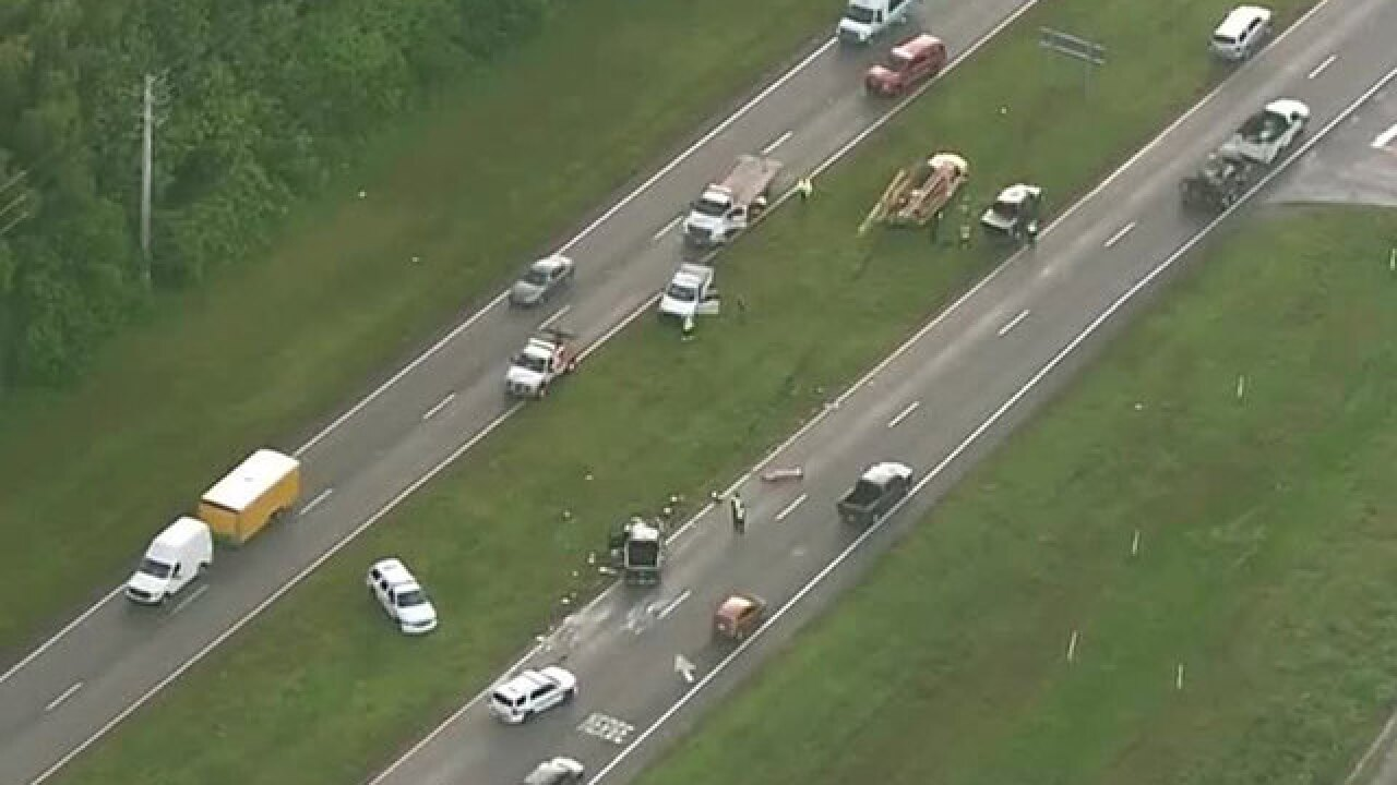 5 hurt in Beeline Highway crash near Riviera Beach