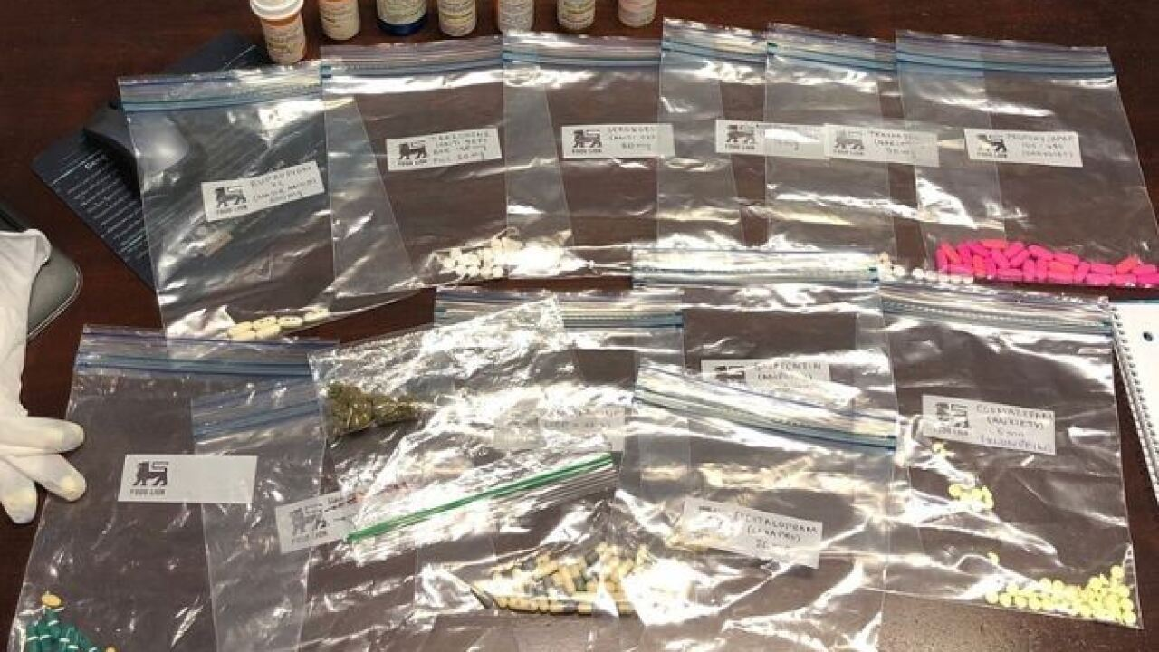 Hundreds of pills seized from local student allegedly selling grandparents' prescriptions