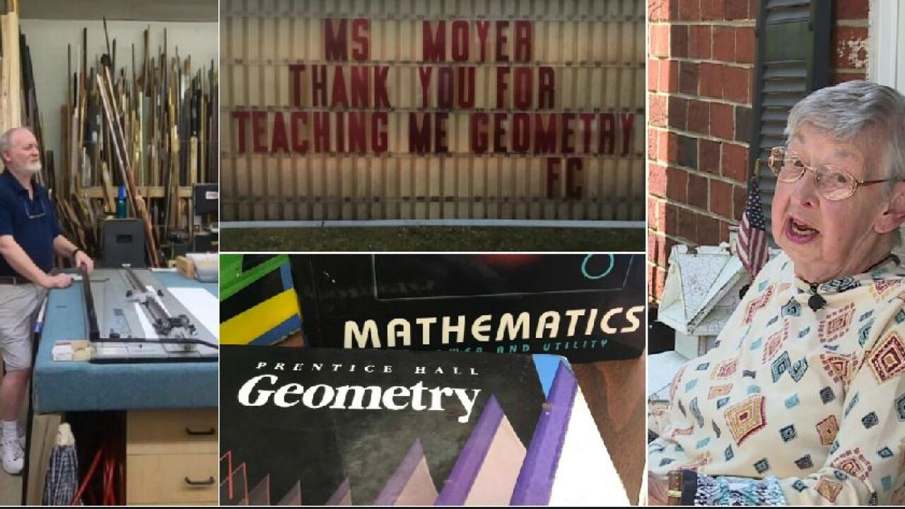 Why this Petersburg man is thanking his geometry teacher decades after he never turned in hishomework