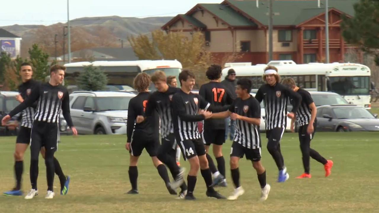 Billings Senior boys soccer 2019