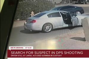 Search continues for driver involved in DPS shooting