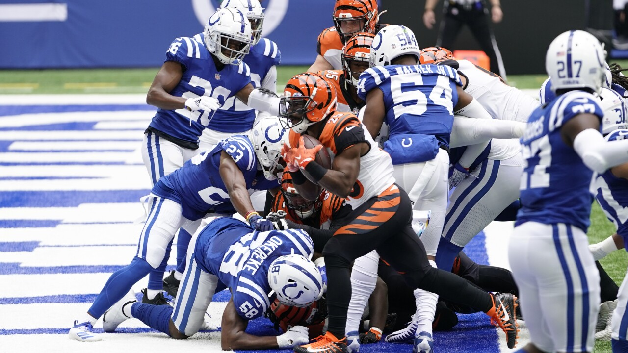 Bengals Colts Football
