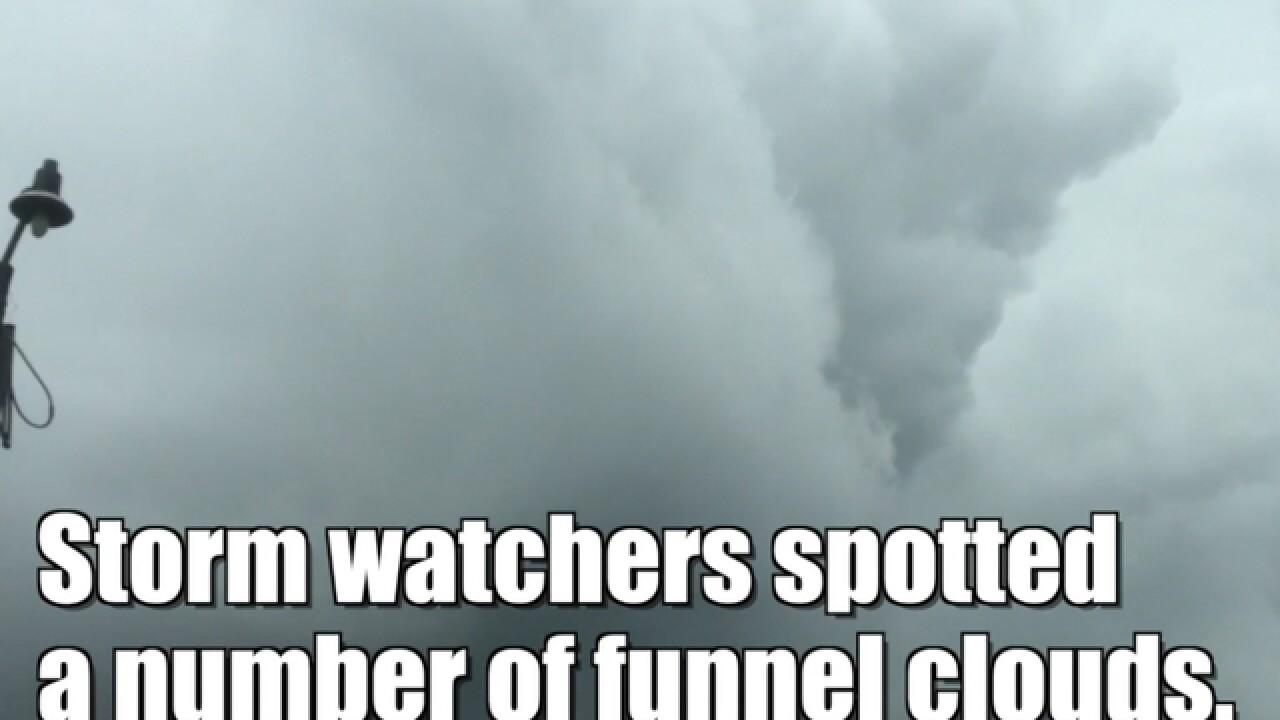 WATCH: Tornado in Indiana levels barn