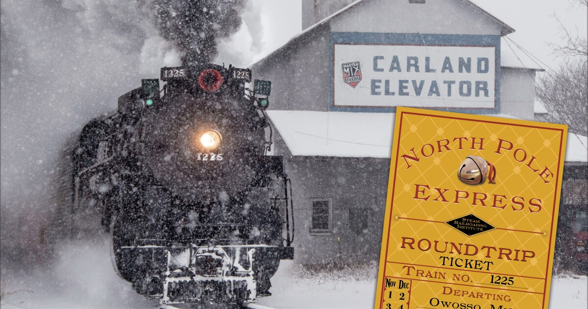 7b862fcb0c All aboard the 2019 North Pole Express; Tickets now on Sale!