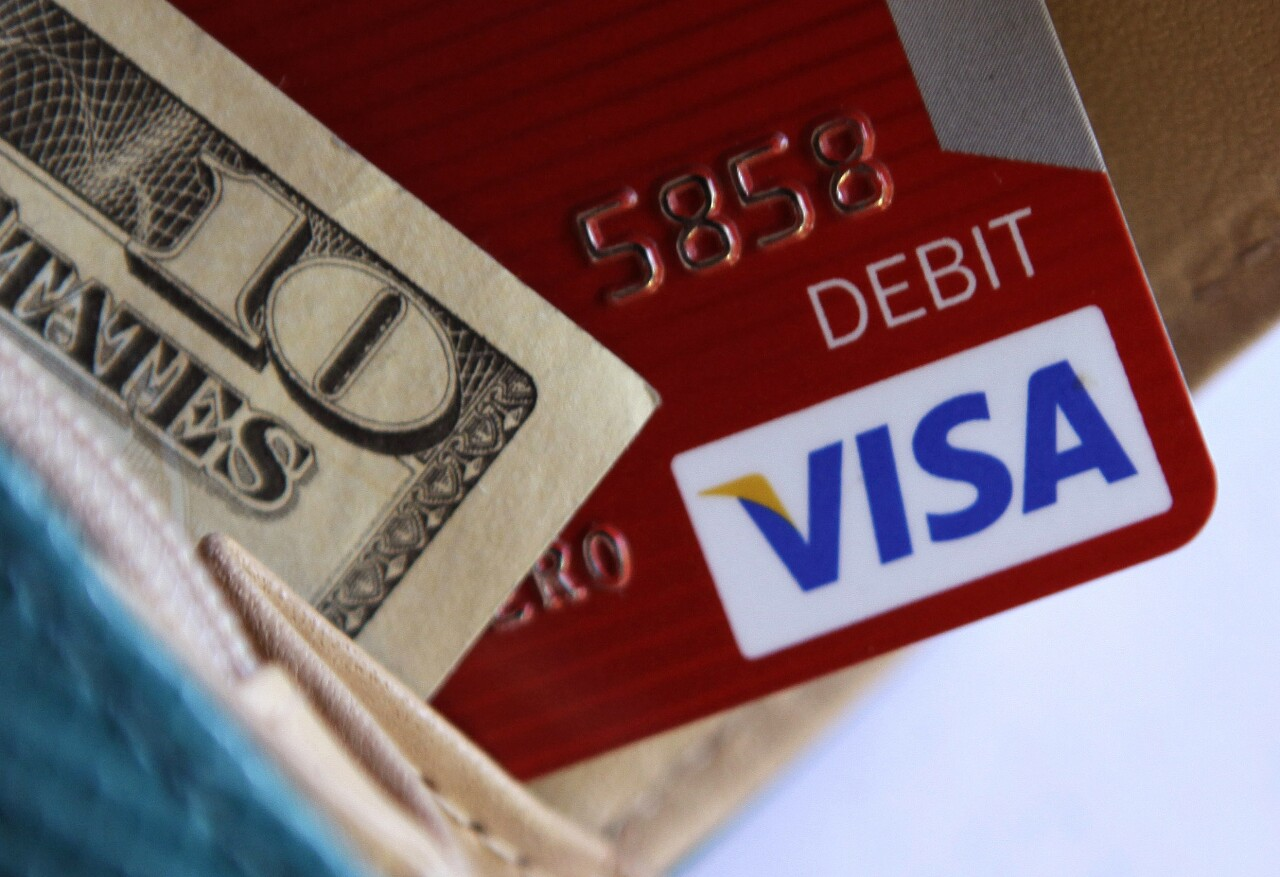 Credit cards with cash