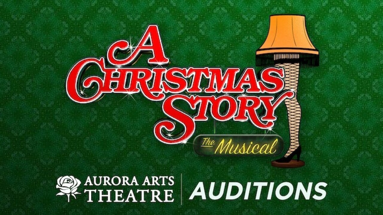 A Christmas Story The Musical.Auditions For A Christmas Story The Musical Begin Sunday