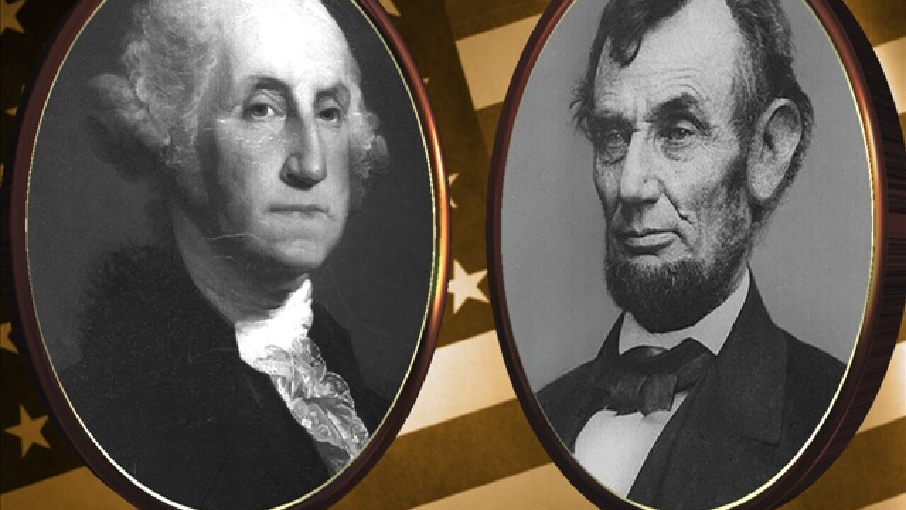 Happy Washington and Lincoln Day