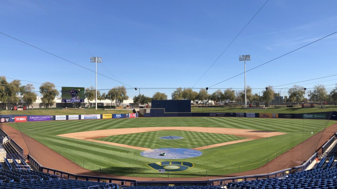 Brewers Home Opener 2020.Brewers Announce 2020 Spring Training Schedule