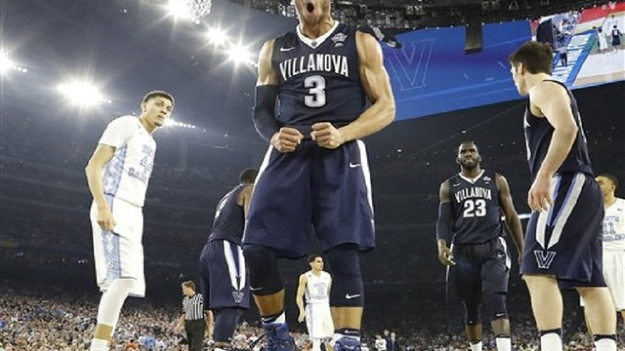 Villanova beats North Carolina in NCAA final