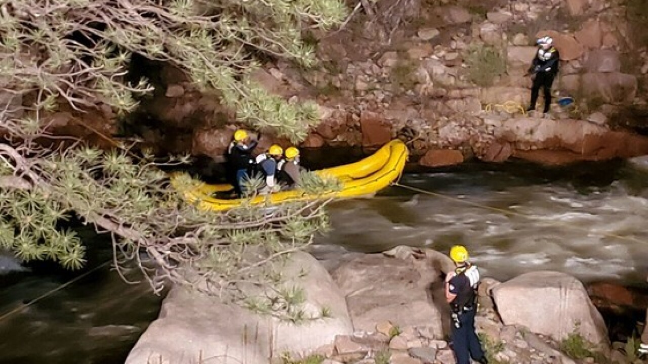 ST VRAIN RESCUE in BOULDER COUNTY