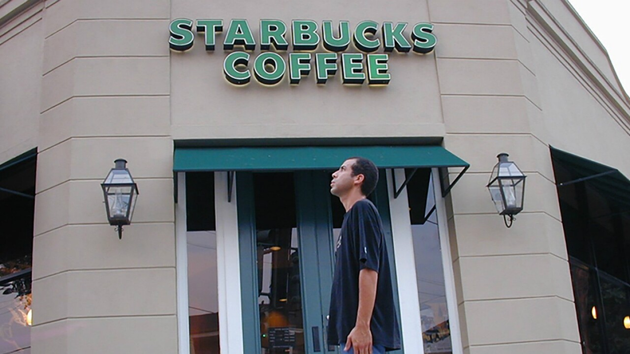 He's visited 15,000 of the world's Starbucks. After 22 years, he's kinda sick of the coffee