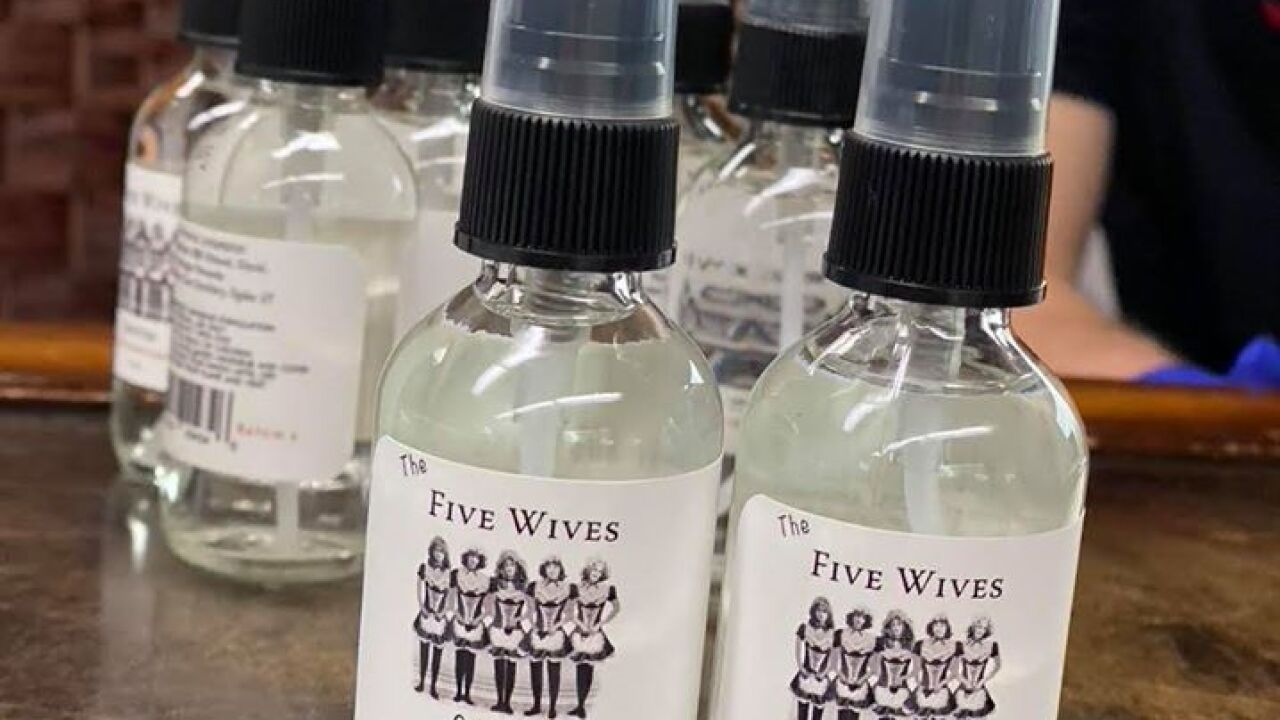 Ogden's Own hand sanitizer to Navajo Nation