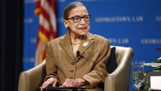 Justice Ruth Bader Ginsburg hospitalized for treatment of possible infection