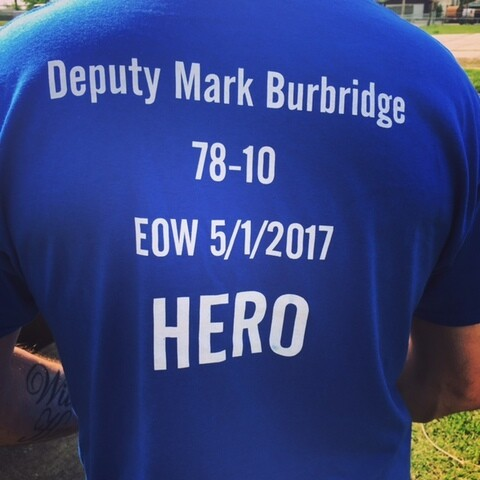 PHOTO GALLERY: Fallen Deputy Mark Burbridge's memorial service