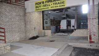 Fox's Firearms gun shop robbery