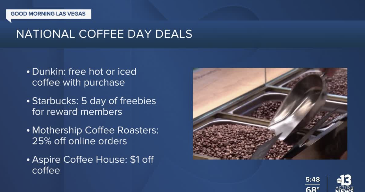 Celebrating National Coffee Day in Las Vegas | 2020