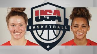 Grace Slaughter and Jada Williams, USA Basketball