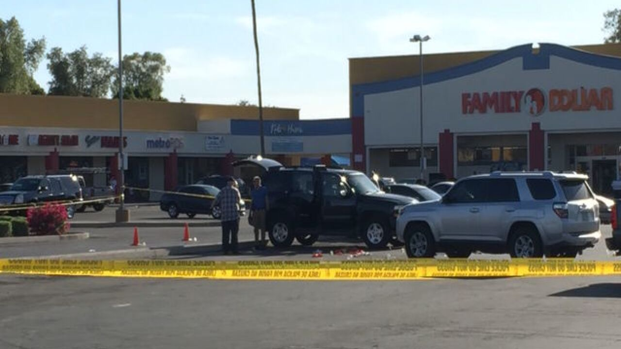 Homeland Security involved in shooting in Mesa