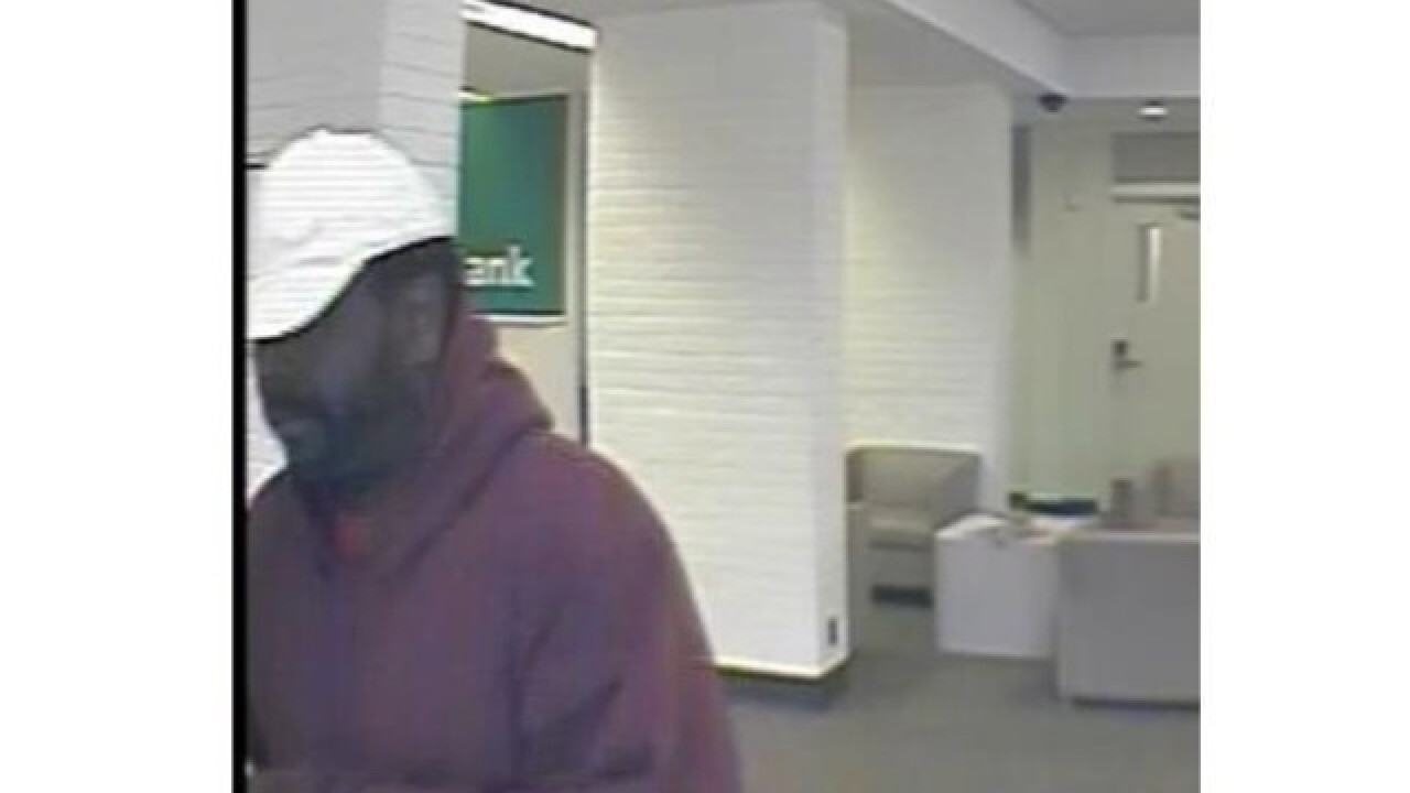 Suspect wanted in armed robbery at Grosse Pointe Woods bank
