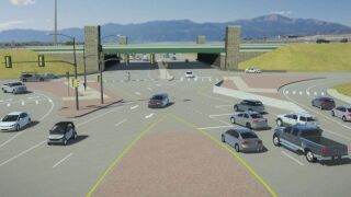 Yes, there is logic behind Colorado Springs' unconventional intersections
