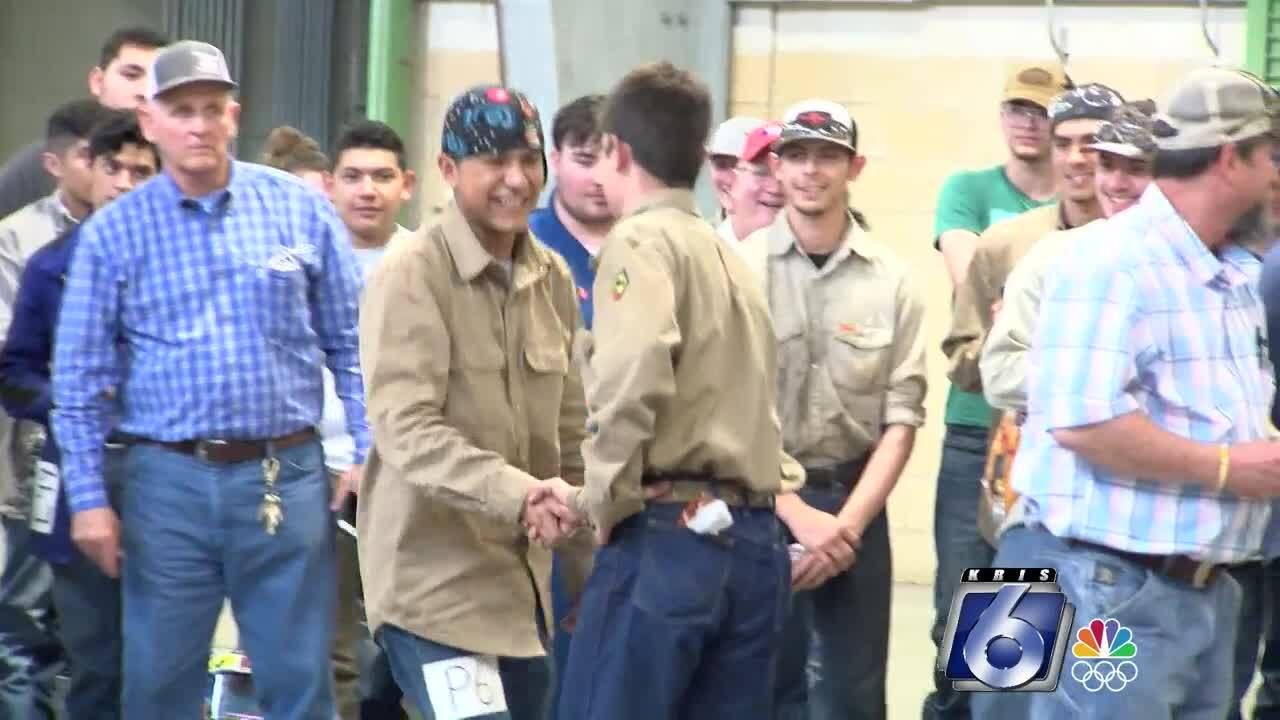 Welding champions at Nueces County Junior Livestock Show