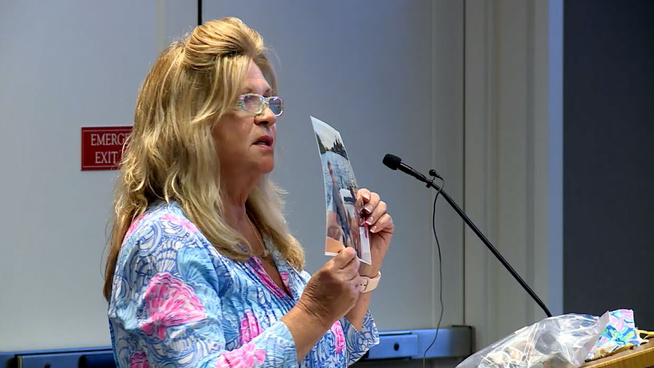 Pamela McAfee, pet owner in Palm Beach County who says dog died from toxic algae