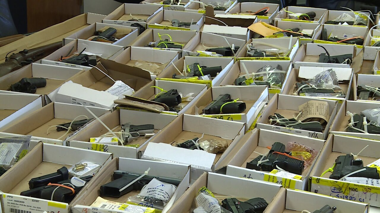 Police confiscated more than 300 illegal firearms from Petersburg in2019