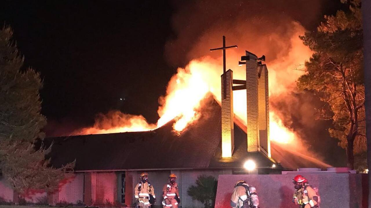 St. Joseph's Church Fire