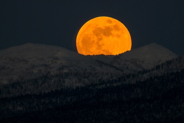PHOTOS: Incredible images of the rare 'super blue blood moon' from around the world